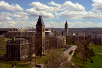 View South down Central Avenue, Cornell University