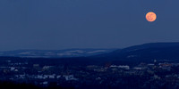Moonrise over Cornell - 2:1
